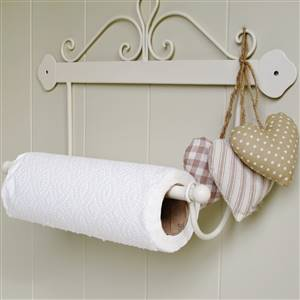 French Scroll Kitchen Roll Holder