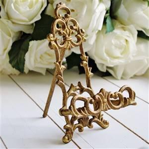 Gold Wedding Table Easel