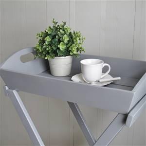 Grey Folding Tray Table