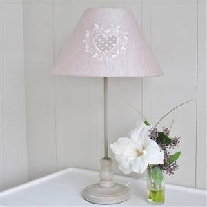 Heart Beige Table Lamp