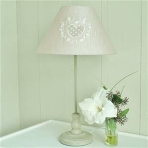 Heart Beige Table Lamp