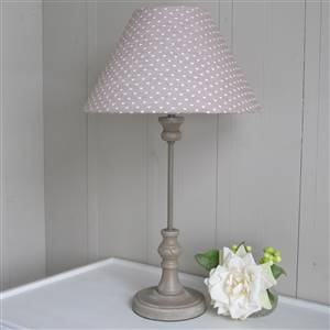 Hearts Beige Table Lamp