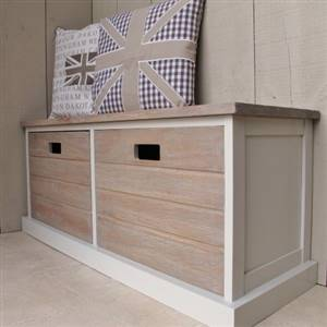 SECONDS 2 Drawer Storage Unit Bench Seat
