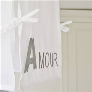 Amour White Ceiling Light Shade