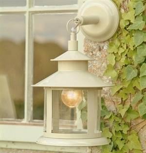 Lantern lamp - Clay