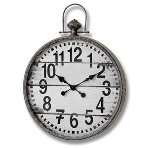 Large Fob Wall Clock
