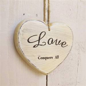 LOVE Conquers All Heart SECONDS