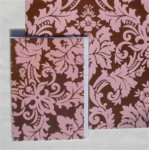 Pink Flock Greeting Card