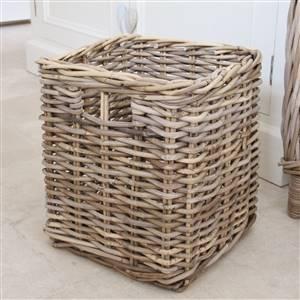 Rattan Storage Basket Bin