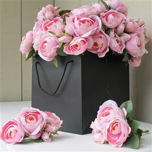 Pink Roses Short Stem x 1