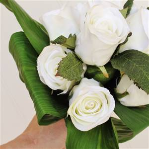 Ruckley White Rose Bouquet