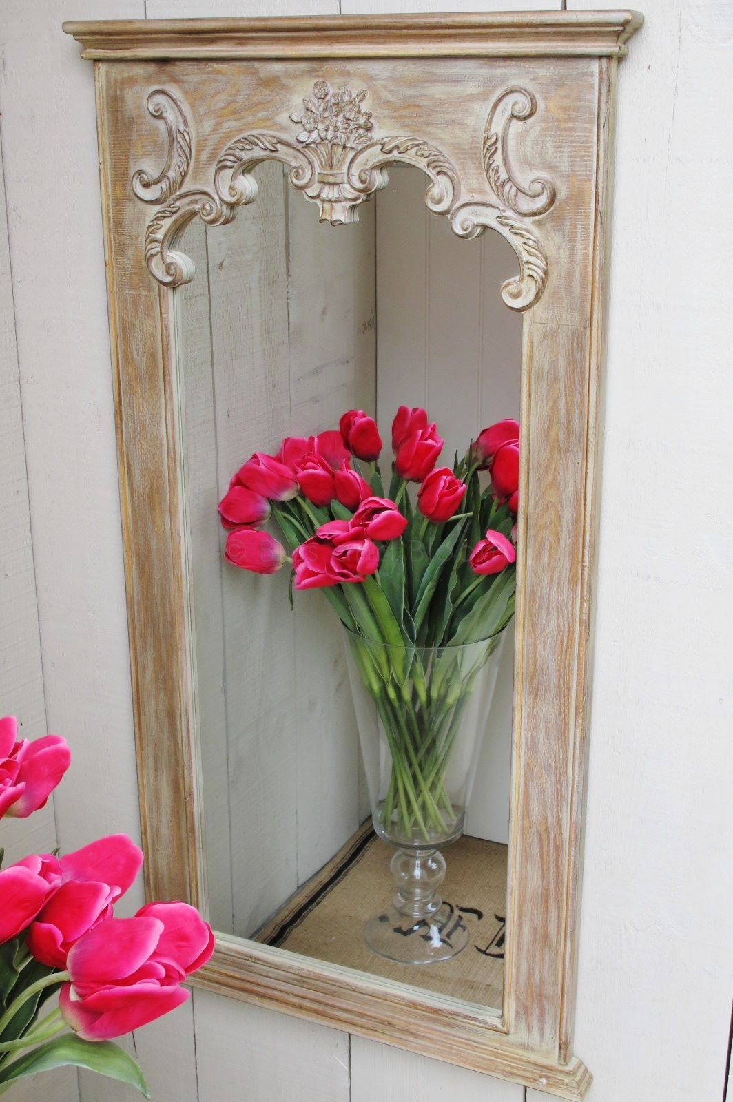 French style long wall mirror   Bliss and Bloom Ltd